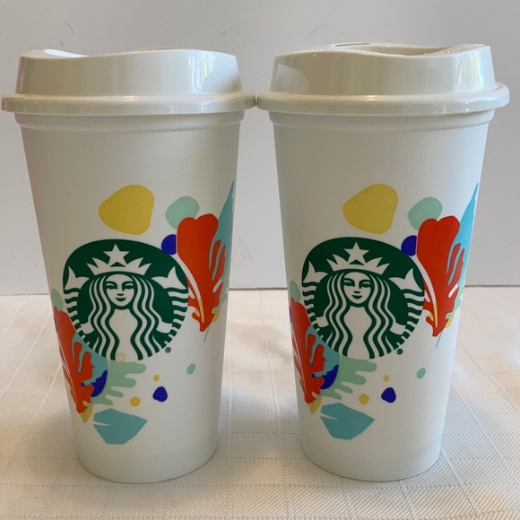 Starbucks Limited edition Hawaiian tropical cup